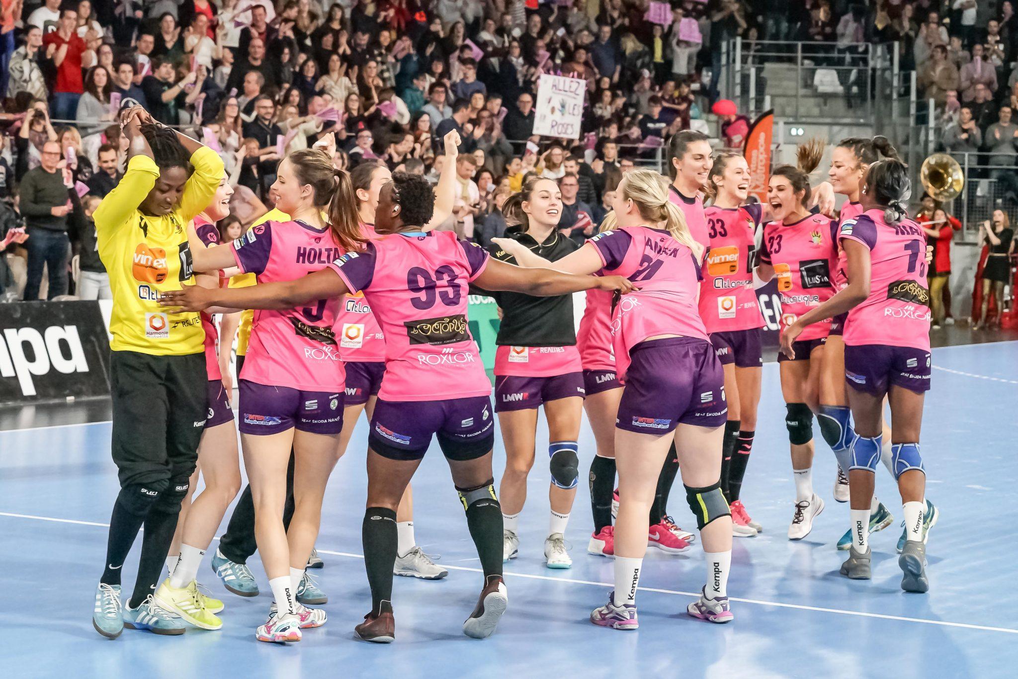 nahd club handball feminin nantes