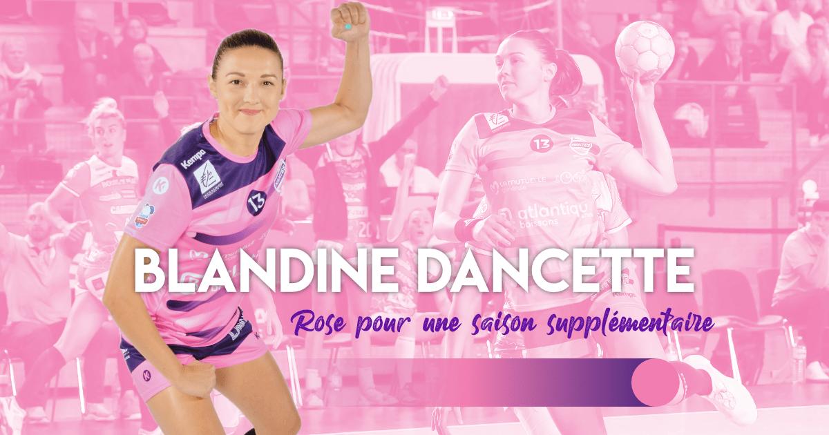Blandine Dancette, rose pour une saison supplémentaire !