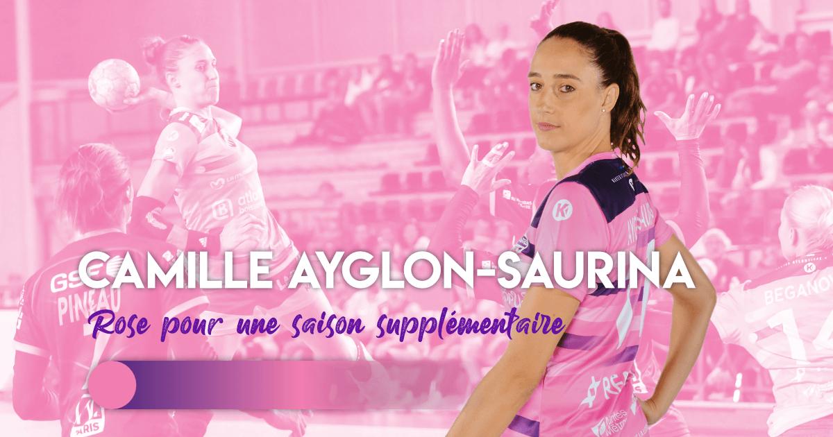 Camille Ayglon-Saurina poursuit l'aventure Rose !