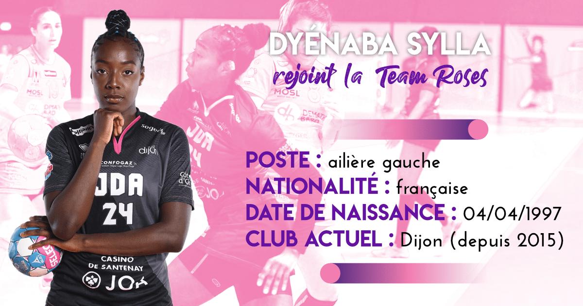 Dyénaba Sylla rejoint la team Roses !