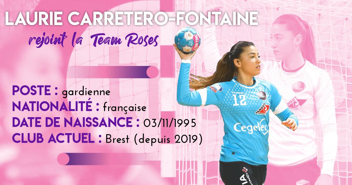 Laurie Carretero-Fontaine, nouvelle joueuse de la Team Roses