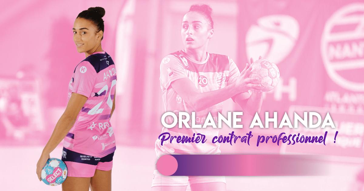 Orlane Ahanda signe chez les professionnelles