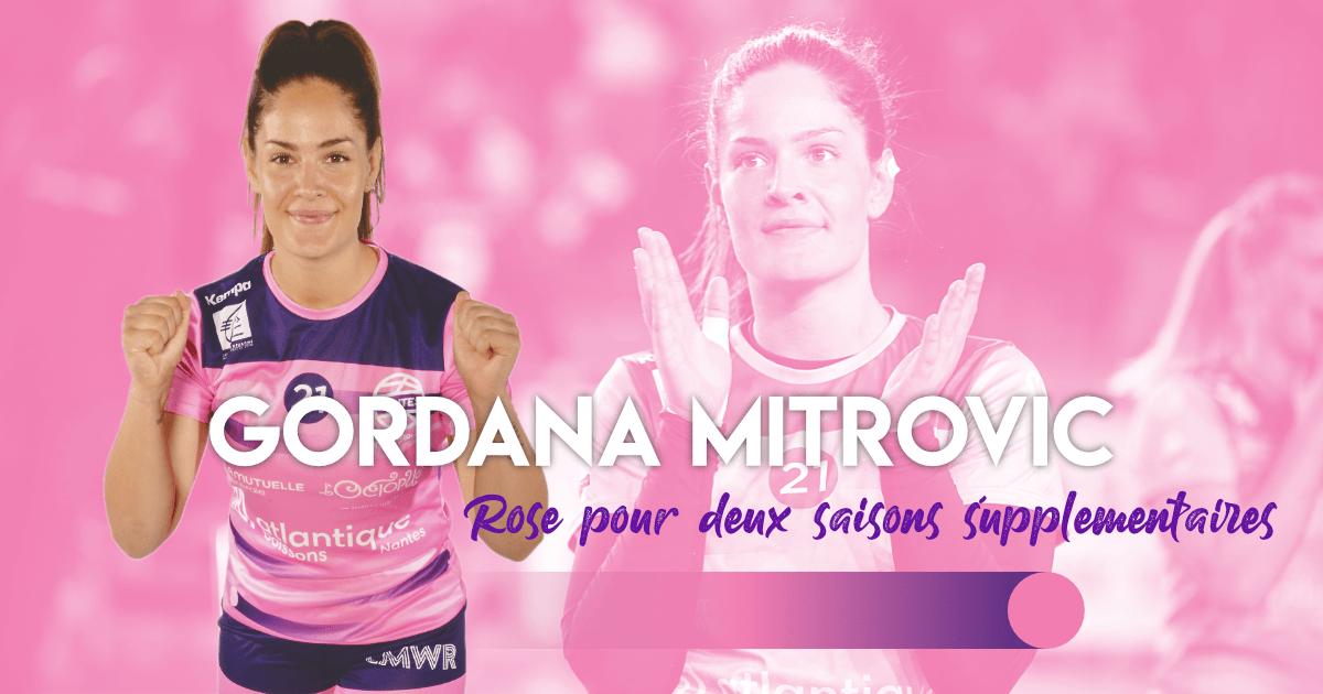 Gordana Mitrović prolonge pour deux saisons !
