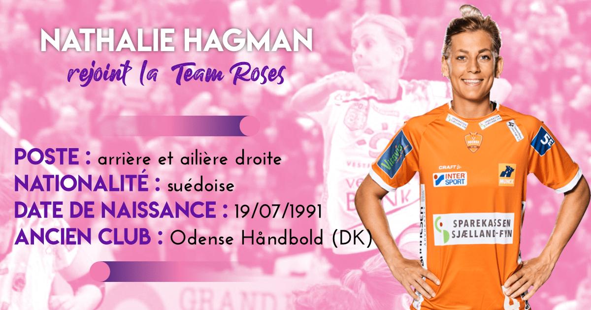 Nathalie Hagman rejoint la Team Roses